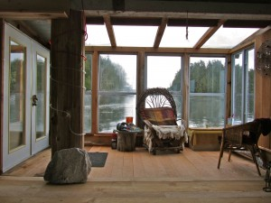 Rainsong Studio Float House Sunroom